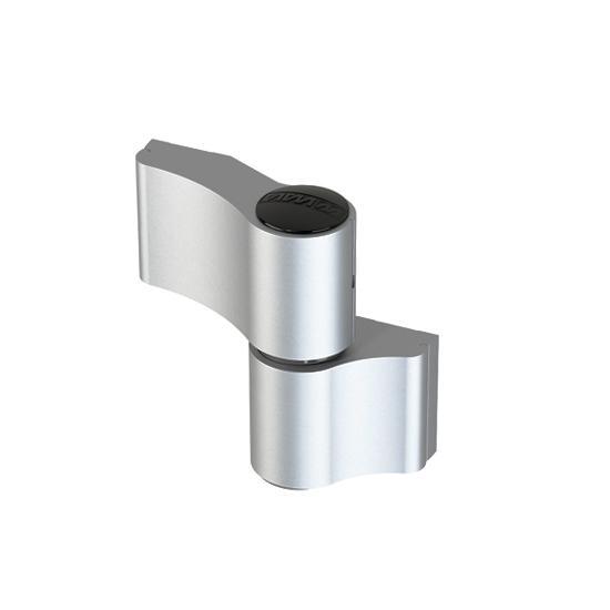 WALA Zawias MX, 2-skrz, R67mm, Niesymetryczny,