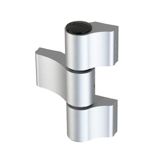 WALA Zawias MX, 3-skrz, R67mm, Niesymetryczny,