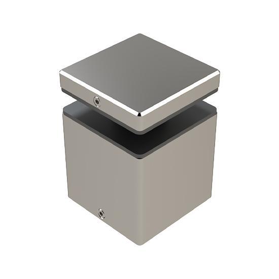 Mocowanie Punktowe Kwadratowe ML, 50x50mm, Dystans