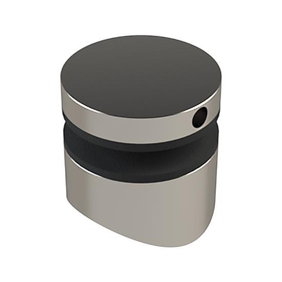 Mocowanie Punktowe ML, FI30mm, Frezowane pod Słupek Okrągły FI42,4mm, Szkło 6-15mm
