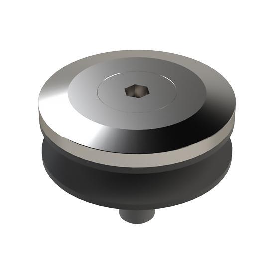 Rozeta Mocowania Punktowego MS, FI50mm, do Podstawy SSP, Szkło 10-22mm